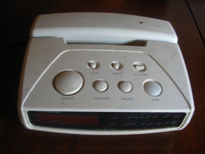 Soundesign Alarm Clock/Phone