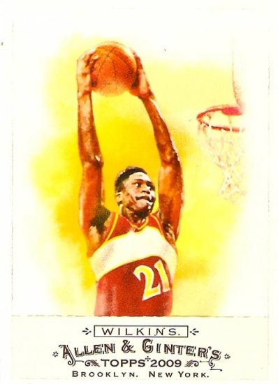 2009 Topps Allen & Ginter Dominique Wilkins SP #346