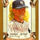 2007 Topps Allen & Ginter Derek Jeter Dick Perez Sketch 19/30 Yankees