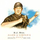 2007 Topps Allen & Ginter B.J. Ryan #284 Blue Jays