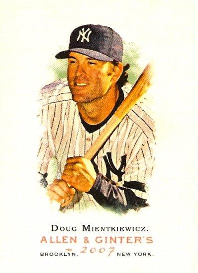 2007 Topps Allen & Ginter Doug Mientkiewicz #241 Yankees