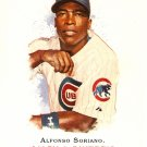 2007 Topps Allen & Ginter Alfonso Soriano #180 Cubs