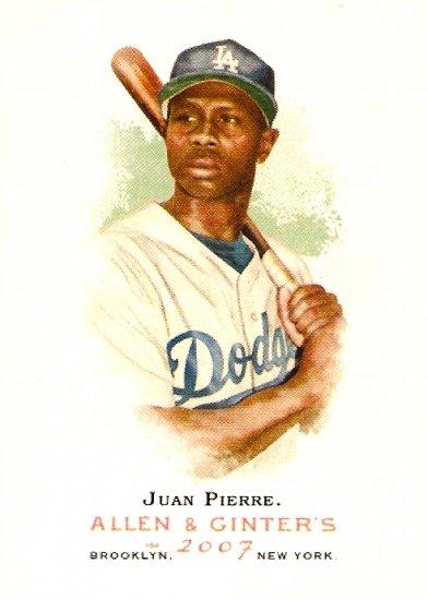 2007 Topps Allen & Ginter Juan Pierre #178 Dodgers