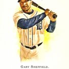 2007 Topps Allen & Ginter Gary Sheffield #170 Tigers