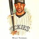2007 Topps Allen & Ginter Willy Taveras #153 Rockies