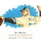 2007 Topps Allen & Ginter Gil Meche #125 Royals