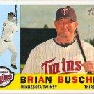 2009 Topps Heritage Brian Buscher #423 Twins