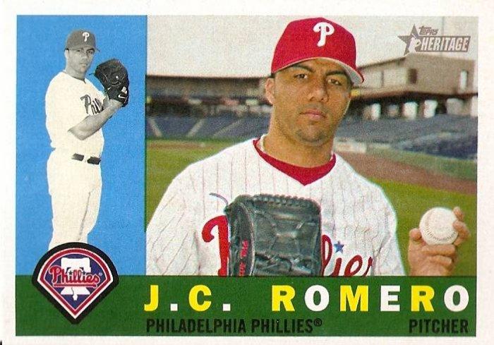 2009 Topps Heritage J.C. Romero #416 Phillies