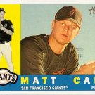 2009 Topps Heritage Matt Cain #410 Giants