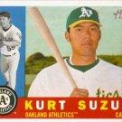 2009 Topps Heritage Kurt Suzuki #409 A's