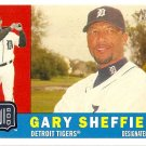 2009 Topps Heritage Gary Sheffield #396 Tigers