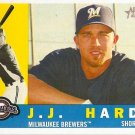 2009 Topps Heritage J.J. Hardy #378 Brewers