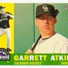 2009 Topps Heritage Garrett Atkins #375 Rockies