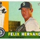 2009 Topps Heritage Felix Hernandez #364 Mariners