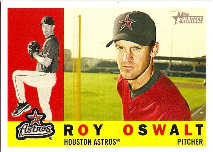 2009 Topps Heritage Roy Oswalt #362 Astros