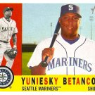 2009 Topps Heritage Yuniesky Betancourt #358 Mariners