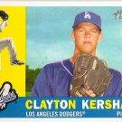 2009 Topps Heritage Clayton Kershaw #343 Dodgers