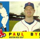 2009 Topps Heritage Paul Byrd #336 Red Sox
