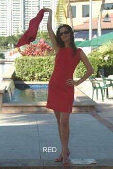 Linen Short Sleevelees Dress