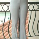Lined Stretch Wool Straight Leg Pant