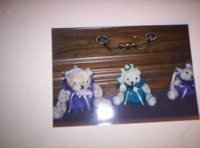 Fabric Body Teddy Bears