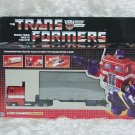 Transformers G1 OPTIMUS PRIME Reissue KO Brand New L