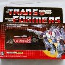 Transformers G1 Red Mirage Reissue KO Brand New Q