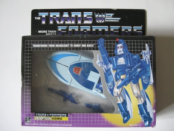 Transformers G1 Scourge Reissue KO Brand New T
