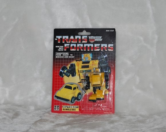 Transformers G1 BUMBLEBEE Reissue KO Brand New X