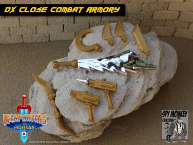 Weaponeers of Monkaa - DX Gold Close Combat Armory