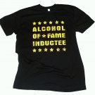 Alcohol OF Fame Black T-Shirt XL