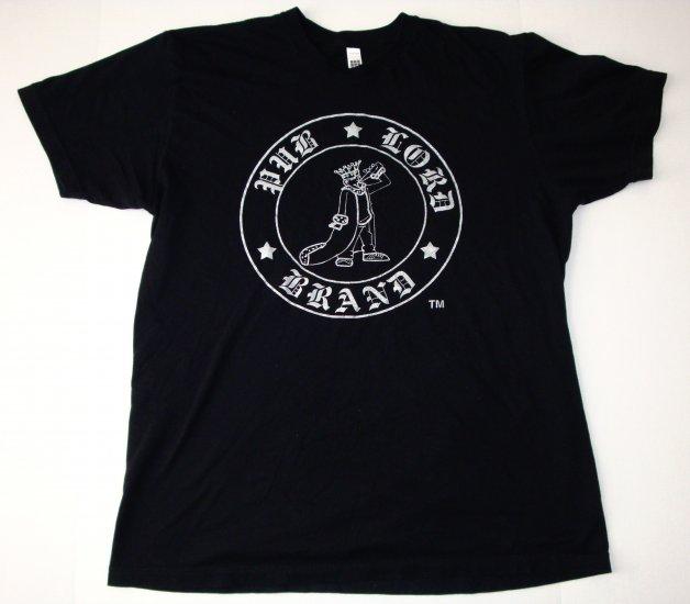 Pub Lord Logo Black T-Shirt XL