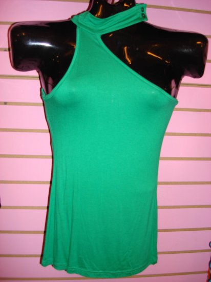 HOT GREEN CLUBBING TOP SIZE SMALL 2 - 4