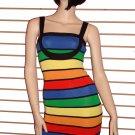 Sexy Clubbing Bandage Mini Dress Ladies size 6 - 8