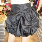 Black  Ruffle Mini Skirt  L