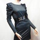 Power Sleeve Mini Dress Size  Large