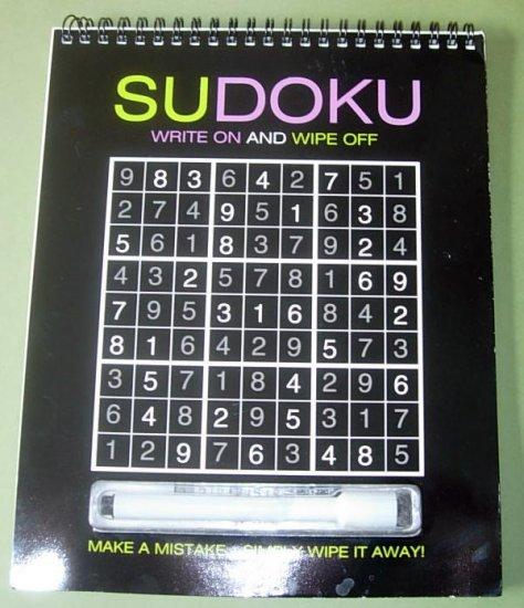 SUDOKU Write on & Wipe Off Game Book