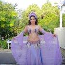 Vintage Madame Abla Deco Belly Dance Costume
