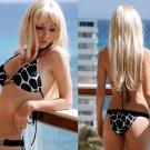 *S* *HOT Brazilian Bikini SET*Animal Print Padded Swimsuit NWT Small