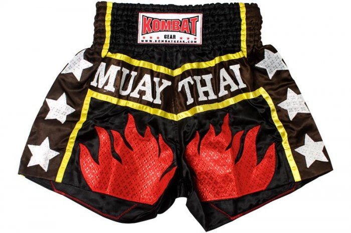 Kombat Gear Muay Thai Boxing Shorts [KTBSS007]
