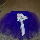 purple bow tutu