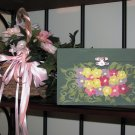 Floral Wooden Box