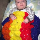 Child's Rainbow Blanket