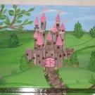 Hand Painted Princess Castle Step Stool