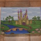 Hand Painted Princess Castle Toy Box