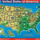 Melissa and Doug - USA Map Sound Puzzle