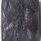 100% Genuine Black Crocodile Scrap Skin Wallet