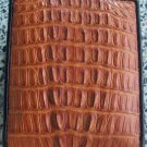 100% Genuine Tan Tail Crocodile Skin Wallet