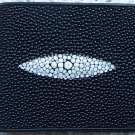 100% Genuine Black Stingray Men Wallet
