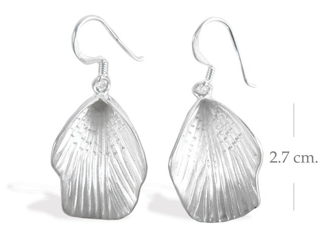 Modern Sterling Silver Dangle earrings